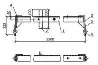 Траверса ТМ-12 (3.407.1-143.8.12) 33,4 кг